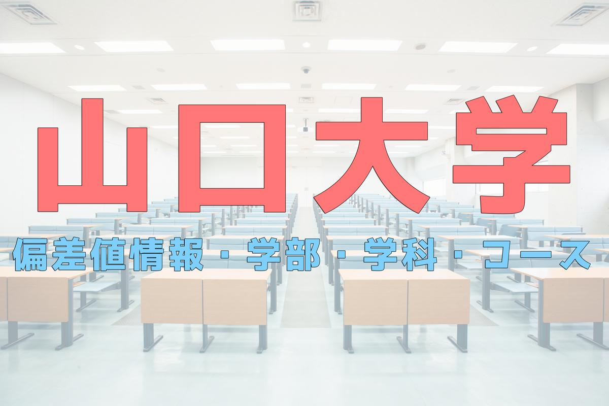 入試 山口 大学