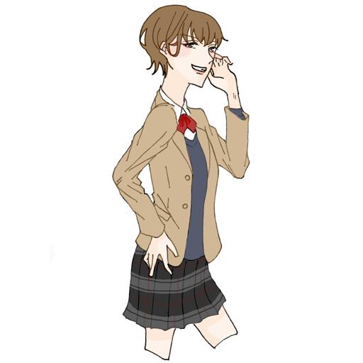 鹿島学園高校 旧制服
