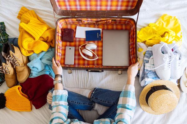 海外留学の荷物