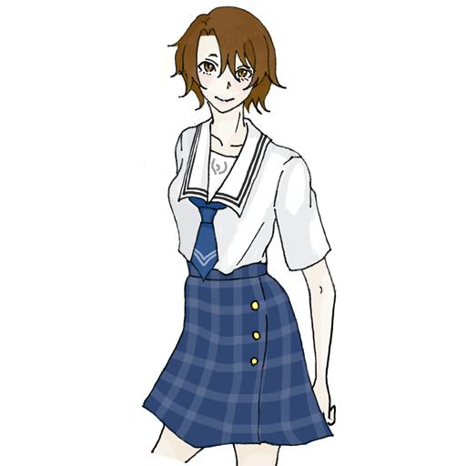 鶴川高校制服