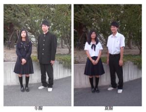 山本高校 制服