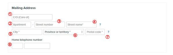 シンプルタックス,simpletax,Mailing Adress