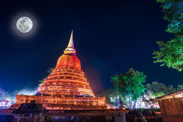留学先タイの観光地